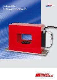 Tunnelentmagnetisierer - Maurer Magnetic AG - Prospekt