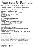 Profitraining für Theaterleute - Schlachthaus Theater Bern - Seite 2
