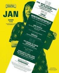 detaillierte Monatsübersicht - Schlachthaus Theater Bern
