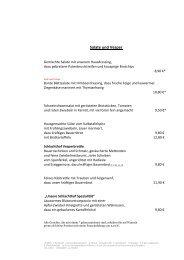 Schlachthof Speisekarte Ab Mai 2013