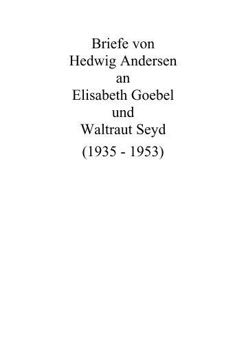 Briefe Von Und An : Die kretas konzeption von dr waltraut barnowski geiser