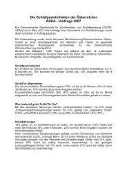 Presseaussendung APA - Österreichische Gesellschaft für ...