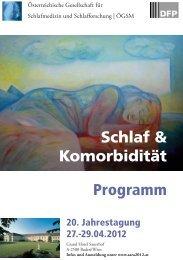 Asra Programm 12.pdf - Österreichische Gesellschaft für ...