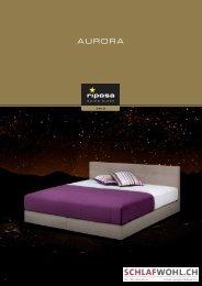 Riposa-Boxspring: AURORA - Schlafwohl.ch