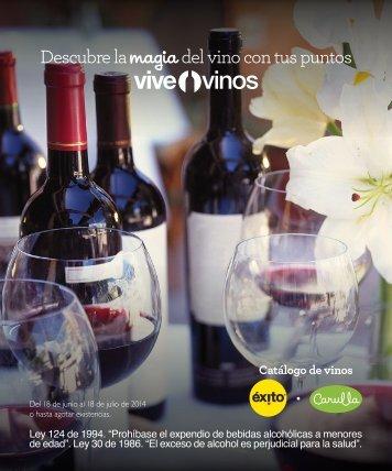 Catálogo Vinos 2014