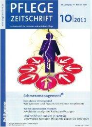 Pflegezeitschrift Neue Villa Seckendorff - Fritz Schlecht/SHL