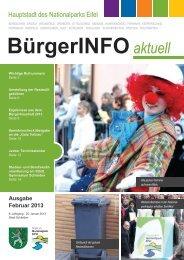 Ausgabe Februar 2013 - Stadt Schleiden