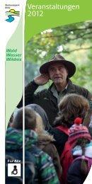 Veranstaltungskalenders 2012 - Nationalpark Eifel