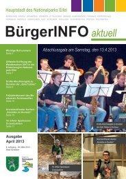 Ausgabe April 2013 - Stadt Schleiden