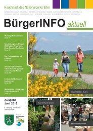 Ausgabe Juni 2013 - Stadt Schleiden