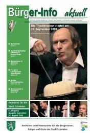 Ausgabe September 2009 - Stadt Schleiden