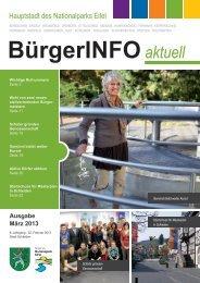 Ausgabe März 2013 - Stadt Schleiden