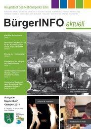 Ausgabe September / Oktober 2013 - Stadt Schleiden