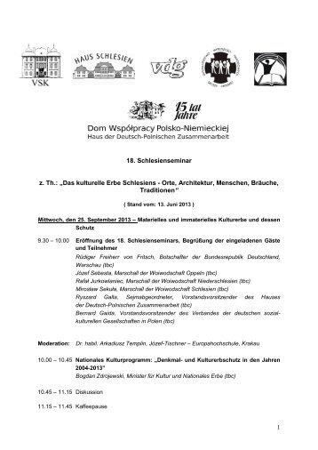 Das kulturelle Erbe Schlesiens - Orte, Architektur ... - Schlesien heute