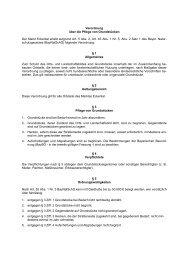 Gemeindeverordnung über die Pflege von Grundstücken - Eckental