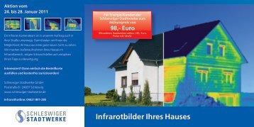 Infrarotbilder Ihres Hauses - Schleswiger Stadtwerke