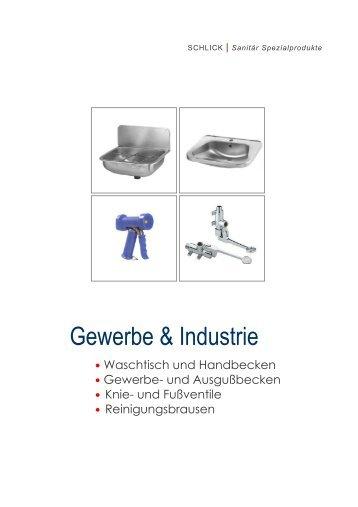 Edelstahl Gewerbebecken, Geschirr- und ... - Schlick