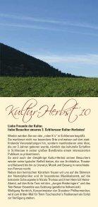 KULTUR- HERBST 2010 - Schliersee - Seite 2