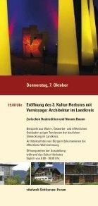 KULTUR- HERBST 2010 - Schliersee - Seite 4
