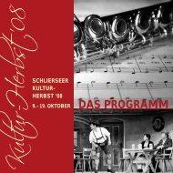 Kultur-H erbst '08 - Schliersee