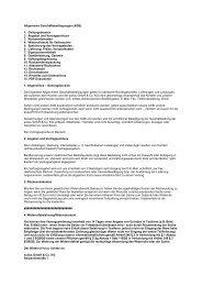Allgemeine Geschäftsbedingungen (AGB) - Sullus GmbH & Co. KG