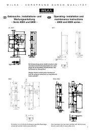 Gebrauchs-, Installations- und Wartungsanleitung – Serie 4000 und ...