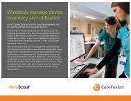Alaris Asset Management brochure - CareFusion