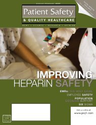 Heparin: Improving Treatment and Reducing Risk of ... - CareFusion
