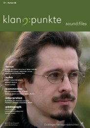 sound:files - bei Doblinger-Musikverlag