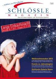 Schlössle-Galerie News Events zu Jahresbeginn Weihnachtszauber ...