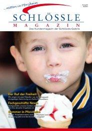 Das Kundenmagazin (PDF, 2,4 MB) - Schlössle-Galerie