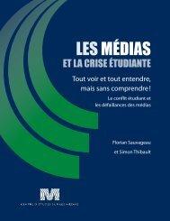 Crise etudiante Sauvageau-Thibault