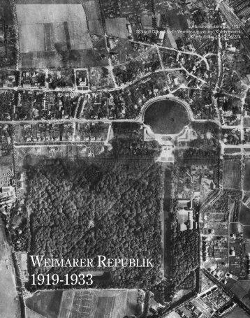 Die Zeit der Weimarer Republik - Schloß-Gymnasium Benrath