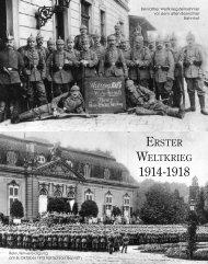 ErstEr WEltkriEg - Schloß-Gymnasium Benrath