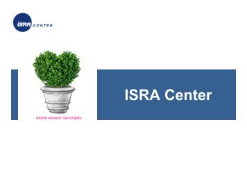 ISRA Center - Directory of Research - ESOMAR