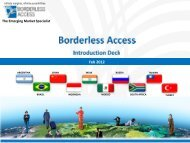 Borderless Access - Directory of Research