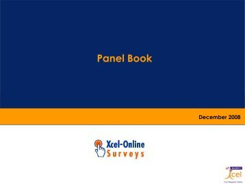 Panel Book - Directory of Research - ESOMAR