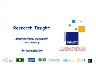 Research Insight - Directory of Research
