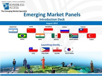 2012 Credentials Presentation - Borderless Access - Esomar