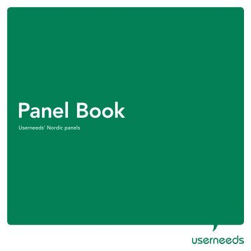 Panel Book - Directory of Research