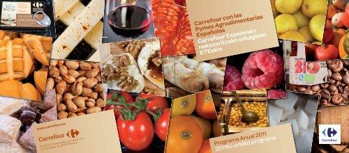 Informe PYMES Carrefour 2011 Euskera