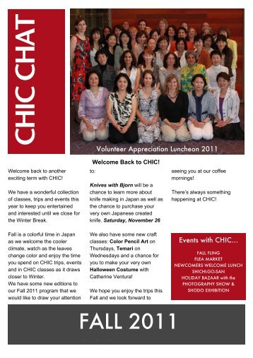 CHIC_Chat_files/Fall 2011 CHIC Chat.pdf