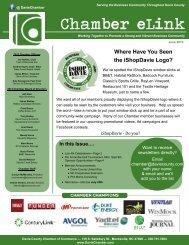 June 2013 Newsletter (pdf) - Davie County Chamber of Commerce