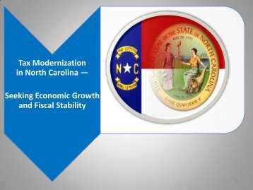 Tax Modernization in North Carolina — Seeking Economic Growth ...