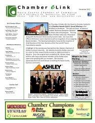 November 2012 (pdf) - Davie County Chamber of Commerce