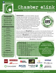 March & April Newsletter (pdf) - Davie County Chamber of Commerce