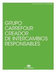 + infosobre Informe sobre Desarrollo Sostenible ... - Carrefour España