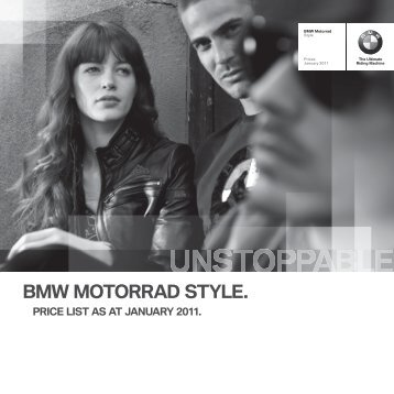 BMW MOTORRAD STYLE. - Barrie Robson Motorcycles