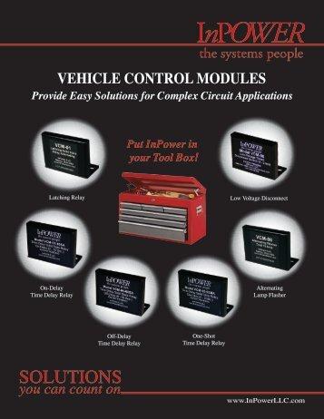 VCM Product Line Card