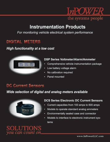 Product Line Card - InPower Direct